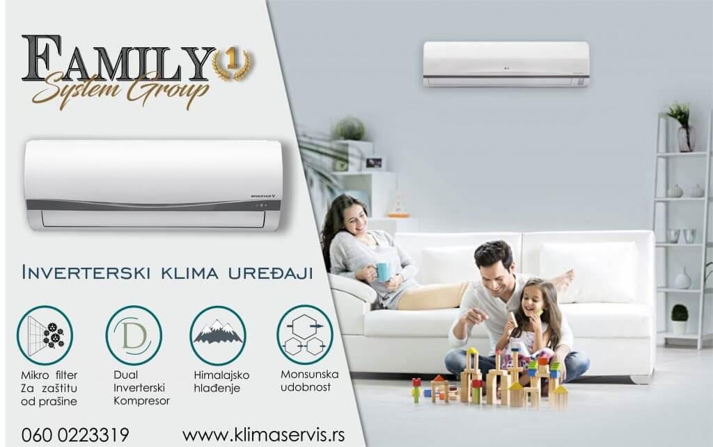 Klima servis Srbija | Family System Group